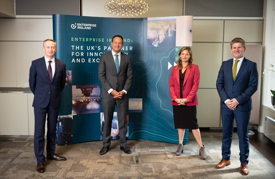 Irish deputy Prime Minister welcomes further expansion into the UK by Construction Innovator ESS Modular