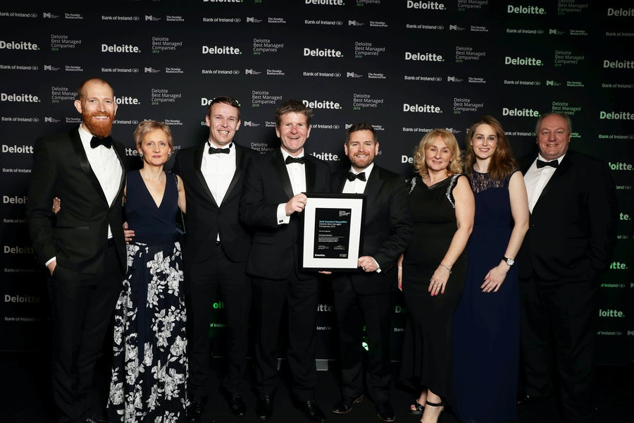 Extraspace Solutions achieve Gold Standard as one of Ireland's Best Managed Companies